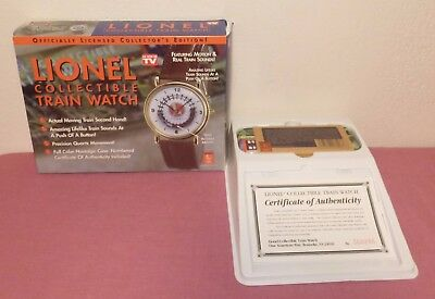 Lionel Trains Collectible Watch