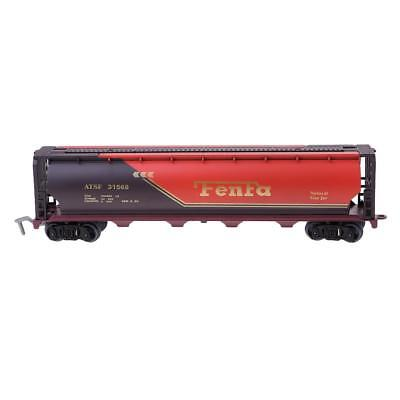 HO Scale Railroad Train Carriage Layout Gauge Detailed Fuel Tanker Car Model