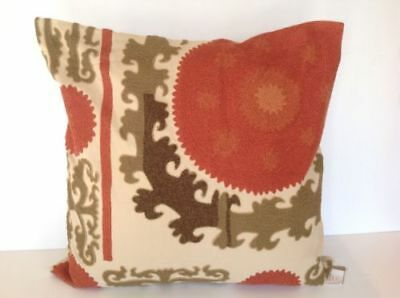 Embroidered Pillow Cover Warm 26X26
