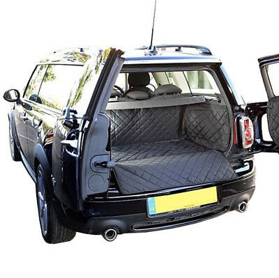 Mini Clubman (Raised Floor) Cargo Liner Trunk Mat - Quilted - 2007 to 2014 (273)