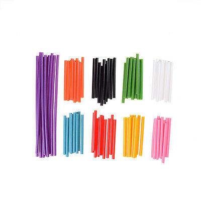 10X Colorful Hot Melt Glue Sticks For Heat Glue Gun High Viscosity AdhesiveFO
