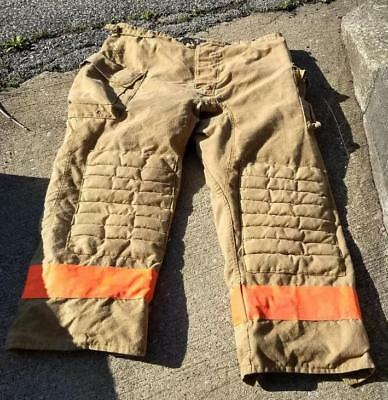 Morning Pride Firemans Turnout  Bunker Pants Gear 48/30 Globe Fire Dex Securitex