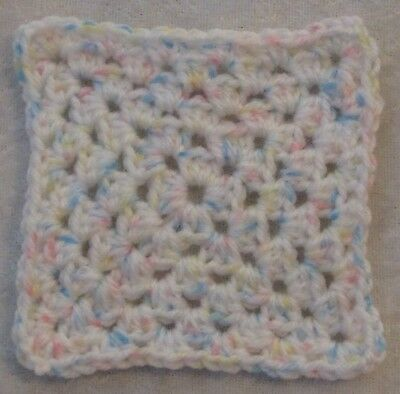 Miniature DOLLHOUSE BABY Crochet Mini BLANKET, Afghan, Quilt #14 Nape Time