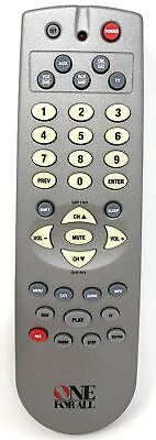 ONE FOR ALL URC-6011B00 Multi-Function Universal Remote Control for
