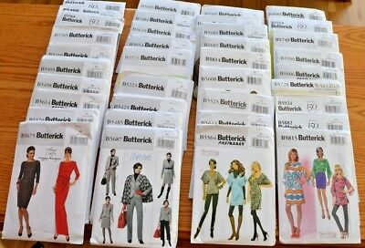 Butterick Sewing Patterns Suits Pants Tops Accessories OOP UNCUT