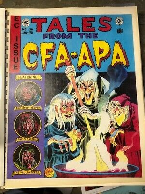 CFA-APA #36 The artists of EC Comics 1995