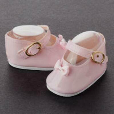 Pink Patent Mary Jane doll shoes Bow on toe fit Sasha Magic Attic Kidz N Cats