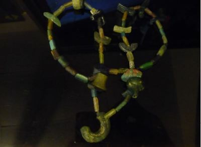 """Beautiful Ancient Roman Glass Beads Necklace - 22"""" or 55cm 1st-2nd cen ad"""