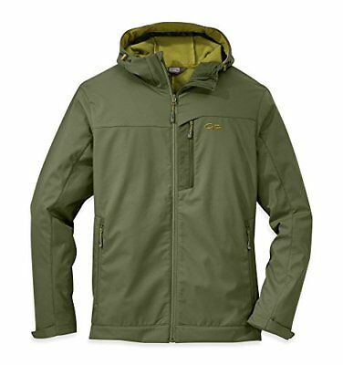 Outdoor Research Men's Transfer Hooded Jacket, Kale, XL