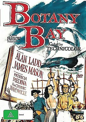 BOTANY BAY Alan Ladd, James Mason Drama Romance Adventure - DVD