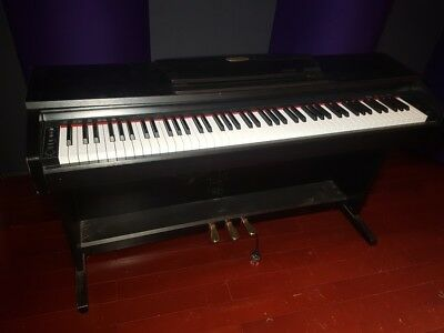 Suzuki 88 Note Weighted Piano Action Digital Piano with Foot Pedals