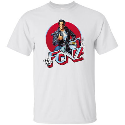 The Fonz, Fonzie, Happy Days, Cool, Retro, TV, Show, Television, Comedy, T-Shirt