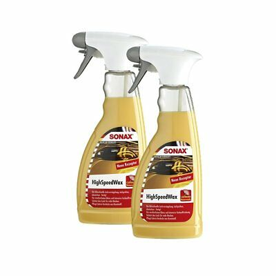 2x SONAX HighSpeedWaxWachs 500ml