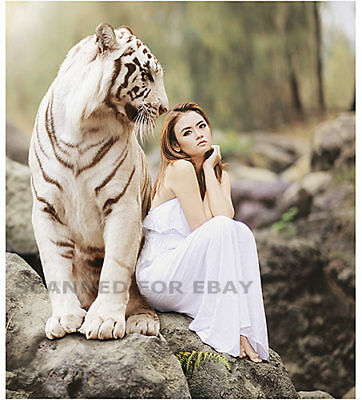 from Roman nude woman and tiger