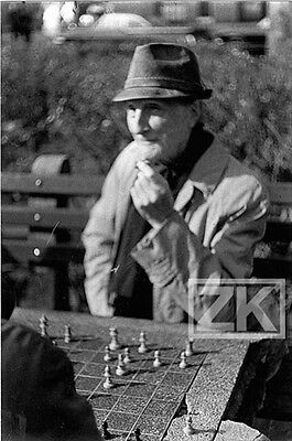 MARCEL DUCHAMP Jeu Echecs Ready-made Pataphysique Oulipo CHESS Photo 1960s
