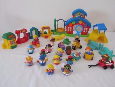 BULK Lot Fisher Price LITTLE PEOPLE School House Play sets