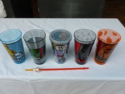 Star Wars Drink Cups - collectable movie souveneir