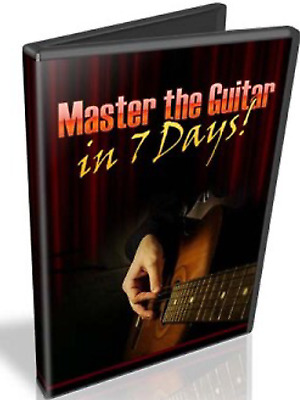 Master the Guitar in 7 Days with Master Resell Rights MRR ebook pdf