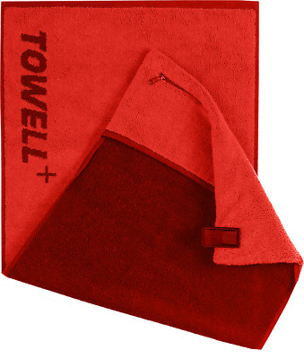 STRYVE Towell Plus V2 rot Sporthandtuch Gym Handtuch TOWELL +