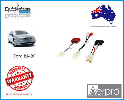 Bluetooth ISO T Harness Aux Speaker Ford BA Falcon BF Territory AT10BA01