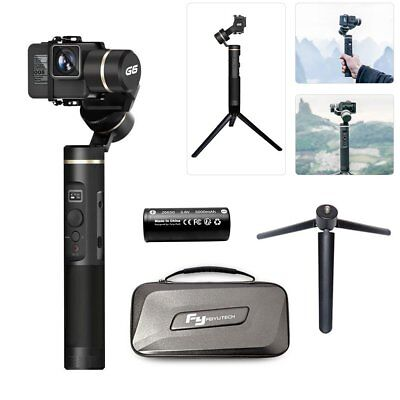 Feiyu G6 Gimbal 3 Axis Splash Proof WIF Bluetooth OLED Screen for Hero 6 5 4 RX0