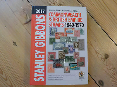 2017 Stanley Gibbons Commonwealth and British Empire Stamp Catalogue CLEARENCE