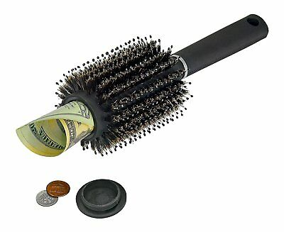 Hair Brush Diversion Safe Compartment Hidden Home Secret Stash Container Storage