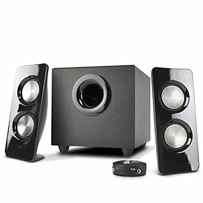 Subwoofer 2.1 Sound System Music TV Movie Home Theater Gaming Multimedia Speaker