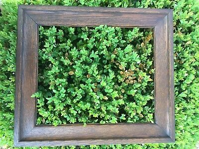 Antique Arts and Crafts Mission Oak Picture Frame