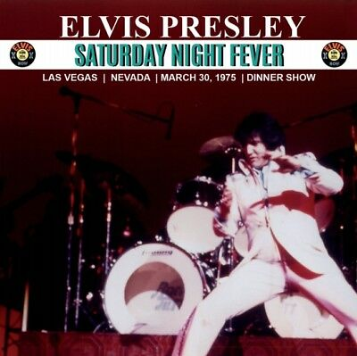 Elvis Collectors CD -  Saturday Night Fever - Free shipping