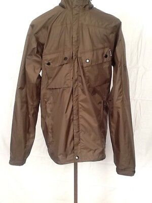 Barbour M Waterproof Breathable Mens Windbreaker Jacket Five Pockets