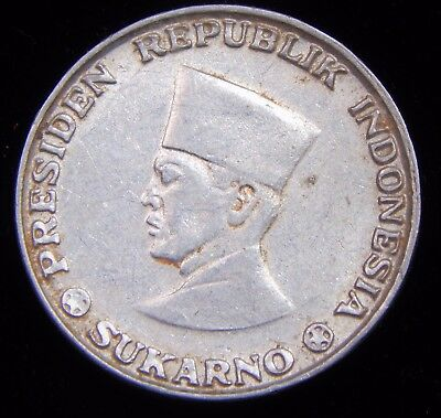 (West) Irian Barat 1962 (Only Year) 5 Sen, Nice and Scarce Indonesian Al Coin!