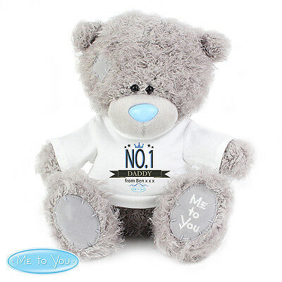 Personalised Me To You Bear Daddy, Boyfriend, Dad, Brother, Uncle, Son, Grandson