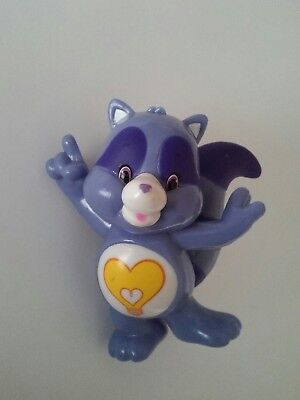 Care Bears and Cousins Collectible Figure Series 4 Bright Heart Raccoon