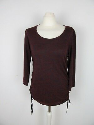 long sweater bordeaux H&M Mama in very good condition, Size M