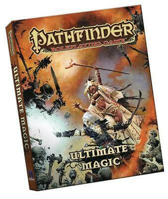 Pathfinder Roleplaying Game: Ultimate Magic Pocket Edition by Paizo Staff Paperb
