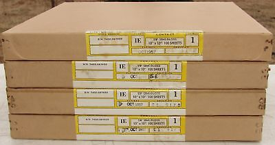 "Photographic Contact Printing Paper 10""x10"" 400 Sheets Sealed Boxes Expired 1957"
