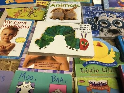 Children's Board Books Lot (7 Pounds) Kids / Toddlers / Preschool / Daycare