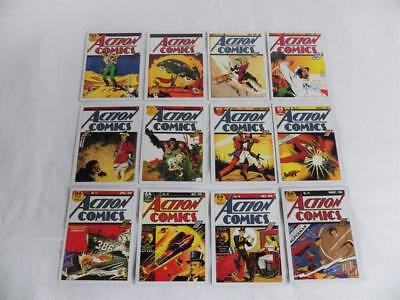 Superman 12 Action Comic Covers Collector Cards
