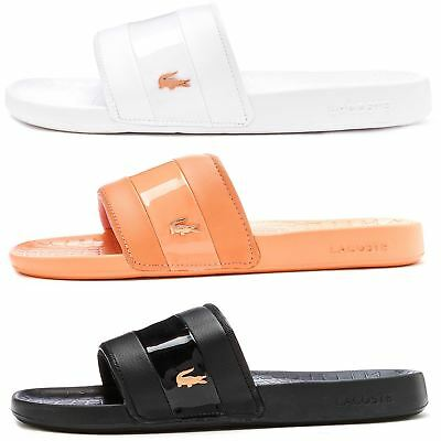 237920254576 LACOSTE FRAISIER 118 4 U Slide Pool Beach Premium in Sandals Light ...