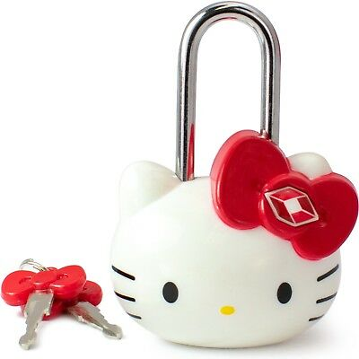 TSA Approved Padlock - Hello Kitty - Girls TSA Keyed Luggage Lock, 1.5 Inch Wide