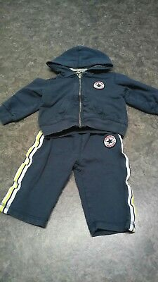 baby boy converse tracksuit
