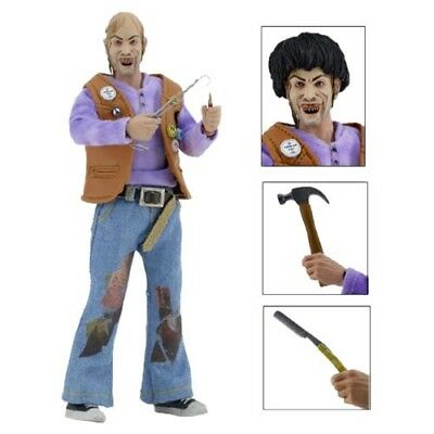 """A Texas Chainsaw Massacre 2 Chop Top 8"""" Clothed Action Figure Retro Doll By Neca"""