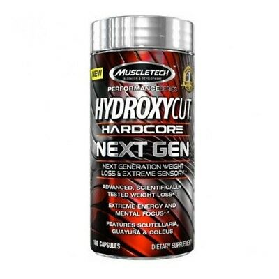 Hydroxycut Hardcore Next Generation 100 Caps