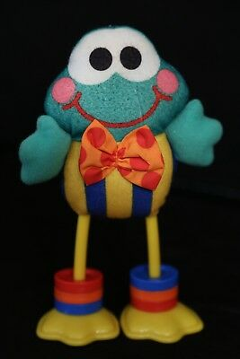Fisher-Price 1998 Click Clack Froggie Vintage Plush Toy Doll