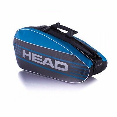 Head Elite Combi Tennis Bag (Blue)