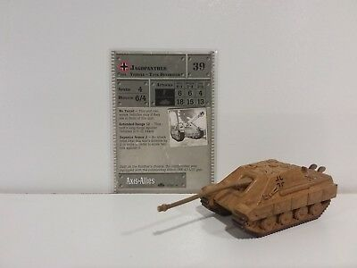 """Axis & Allies 1939-1945 Jagdpanther 38/60  """"RARE"""" New"""