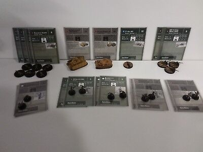 """Axis & Allies Base Set II Miniatures 22 Common/Uncommon/Rare New/Unplayed """"A"""""""