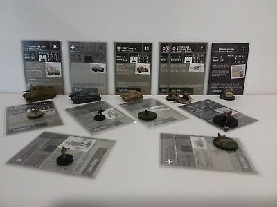 Axis & Allies Reserves 12 Miniatures Commom/Uncommom/Rare New Unplayed
