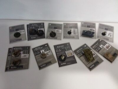 Axis & Allies Reserves 13 Miniatures Commom/Uncommom/Rare New Unplayed